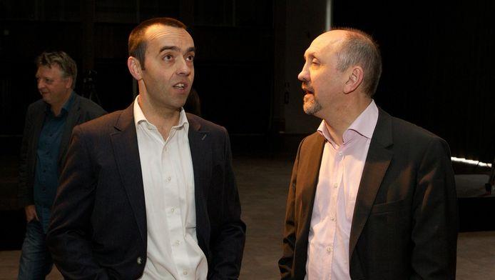 Bruno Tobback en Johan Vande Lanotte.
