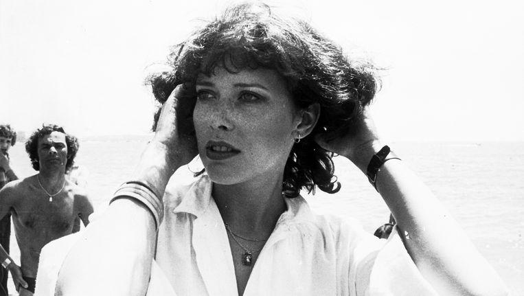 Sylvia Kristel in 1975 Beeld ap