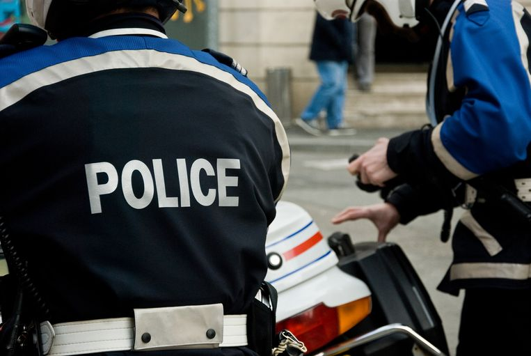 Franse politie. Beeld Getty Images/iStockphoto