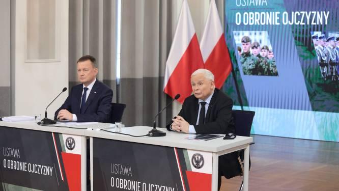 """Polen streeft naar """"radicale versterking van strijdkrachten"""""""