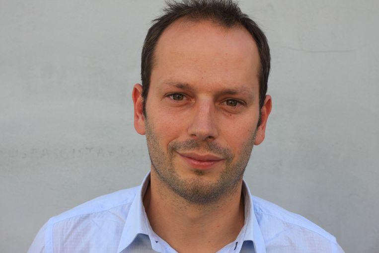 Mathias Bienstman, beleidscoördinator van de Bond Beter Leefmilieu. Beeld rv
