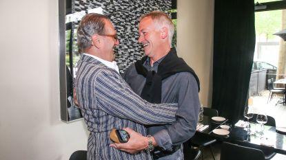 "Degryse: ""Ben je zot geworden, Louis?""  - De Vries: ""Lokerse Feesten, Marc!"""