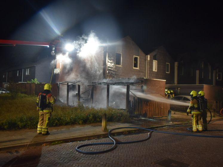 Veel schade aan woning Nijmegen na nachtelijke brand