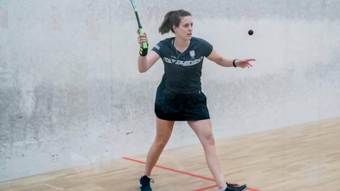 Squasher Tessa ter Sluis uit Sint Willebrord na tweede plek op NK: 'Top 20 van de wereld is het doel'