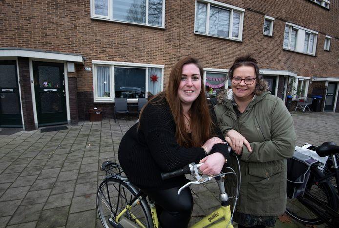 Buren Deborah van Zanten (links) en Rebecca van der Hoeven.