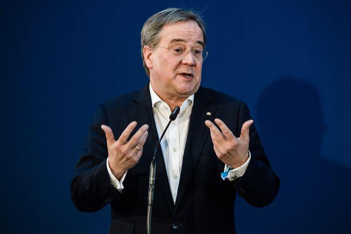 Kandidaat-bondskanselier Armin Laschet.