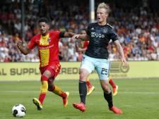 Dolberg met lichte heupblessure terug naar Ajax