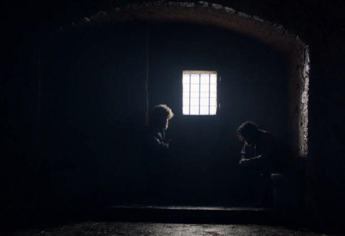Tyrion en Jon nemen afscheid.