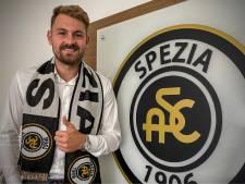 Jeroen Zoet komt waarschijnlijk begin 2021 weer in actie voor Spezia