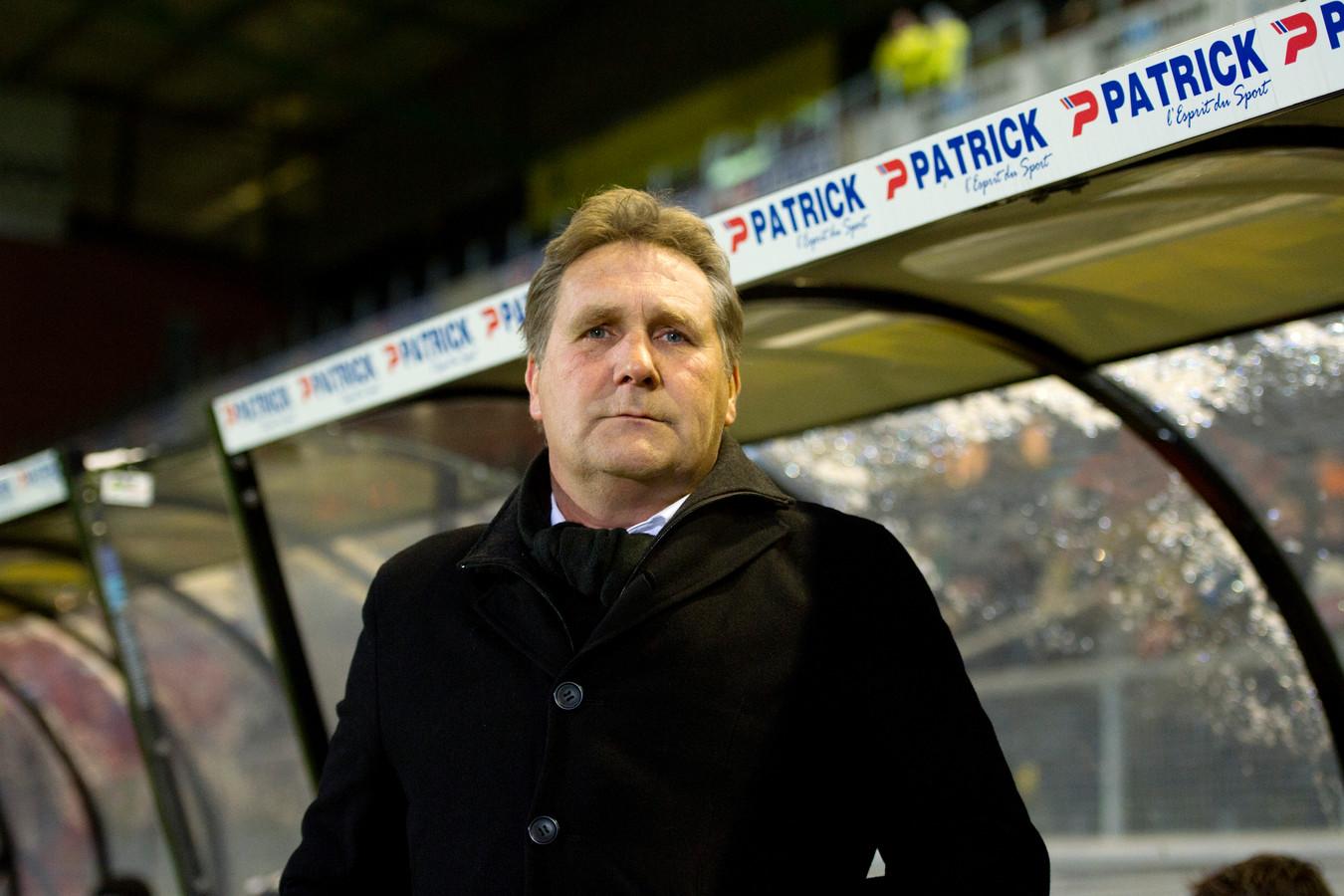 Lokhoff als trainer van NAC.