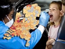 Ruim 4000 nieuwe corona-gevallen: bekijk hier hoeveel het er zijn in jouw gemeente