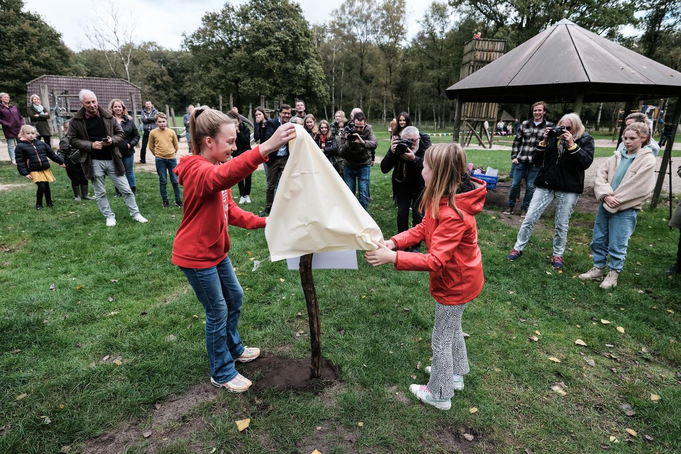 De officiële opening van de nieuwe speelvoorzieningen op Koekendaal in Doetinchem.