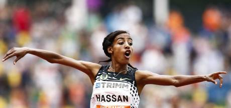 Help Sifan Hassan aan een Europees record op de FBK Games