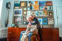 Het kunstenaarsechtpaar Marcello en Els van Marcellos art & rock gallery.