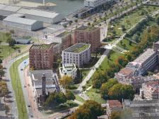 Op deze plek in Rotterdam-West verrijzen straks bijna honderd koopwoningen