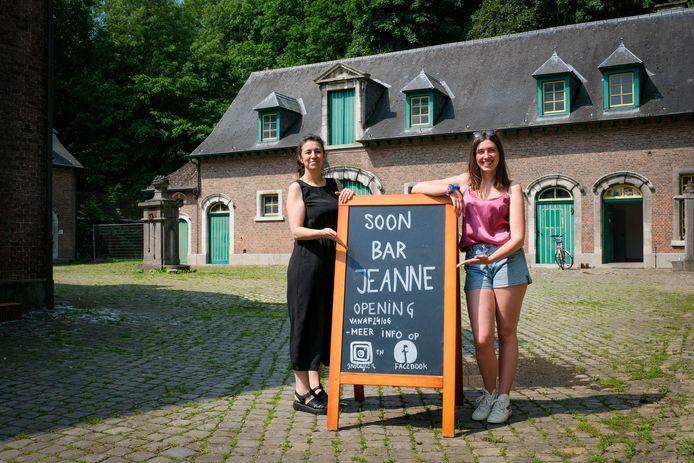 Séverine Dargent (46) en Jaan Bilsen (22) openen op 24 juni de deuren van Bar Jeanne.
