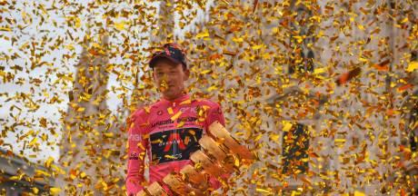 Zo ziet het volledige parkoers van de Giro eruit