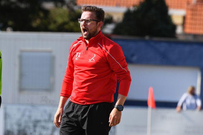 Trainer Ives Cordier wil zijn spelersgroep geen druk opleggen.