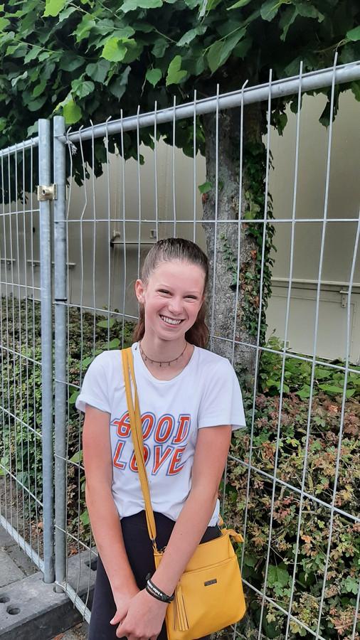 Jasmijn Looman (12) uit Schijndel is fan van de kermis.