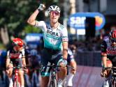 Sagan rondt het berewerk van BORA-hansgrohe af en schiet eindelijk raak in de Giro