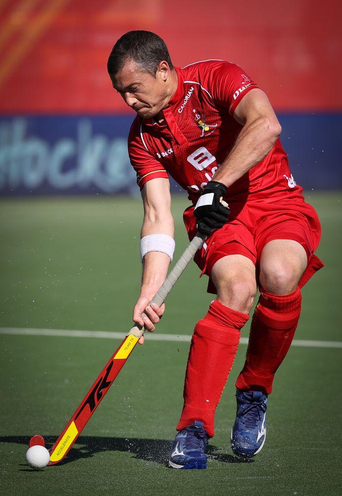 John-John Dohmen lors d'un match contre les Pays-Bas le 30 mai dernier.
