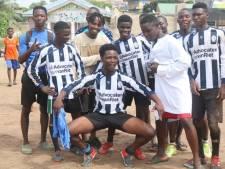 Hoe het komt dat ook in Ghana de Utrechtse derby tussen Hercules en Sporting'70 wordt gespeeld