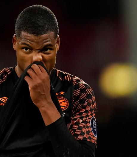Dumfries over rood aangelopen PSV: 'Een behoorlijke tik'