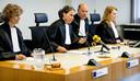 De rechtbank tijdens de uitspraak over de vervolging van drie badmeesters en twee leerkrachten voor de verdrinking van een negenjarig Syrisch meisje in een zwembad in Rhenen. Ze overleed in september 2015 tijdens het schoolzwemmen.