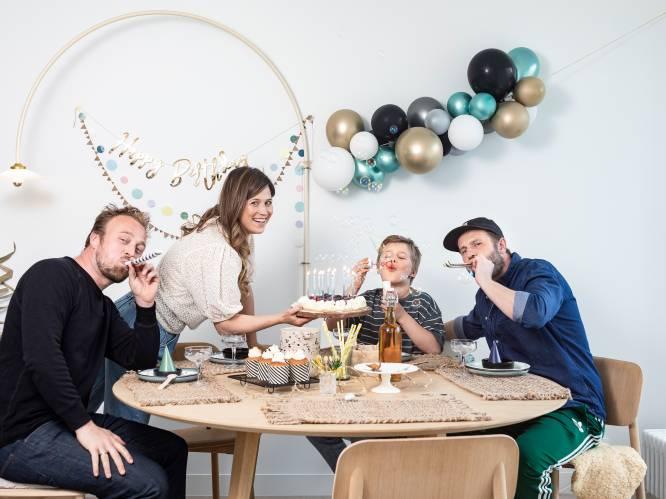 """Ondanks pijnlijke scheiding slagen Joris (40) en Wendy (37) erin om als ouders een goed team te vormen, zelfs met pluspapa Ward (40) erbij: """"Onze zoon zal nooit tussen ons moeten kiezen"""""""