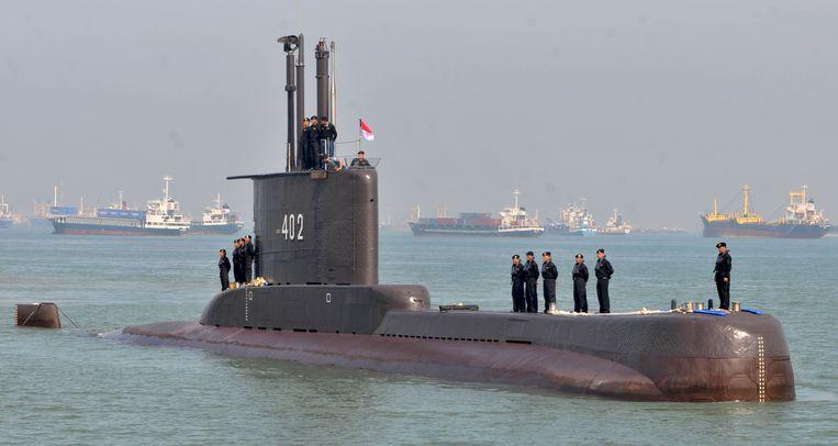 Archiefbeeld van de onderzeeër KRI Nanggala-402. Beeld Reuters