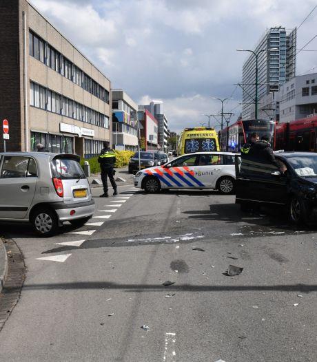 Automobilist gewond bij aanrijding in Rijswijk