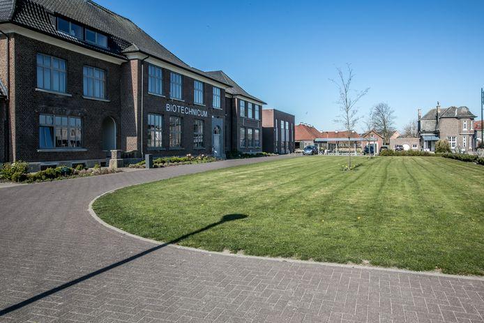 De moord vond plaats in de buurt van het Biotechnicum in Bocholt