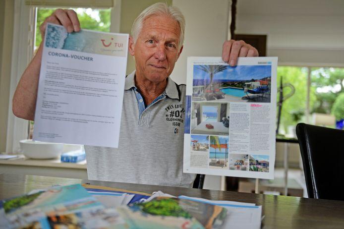 Cor Perik uit Oldenzaal nam een advocaat in de arm om bij TUI zijn geld terug te krijgen. Met succes.