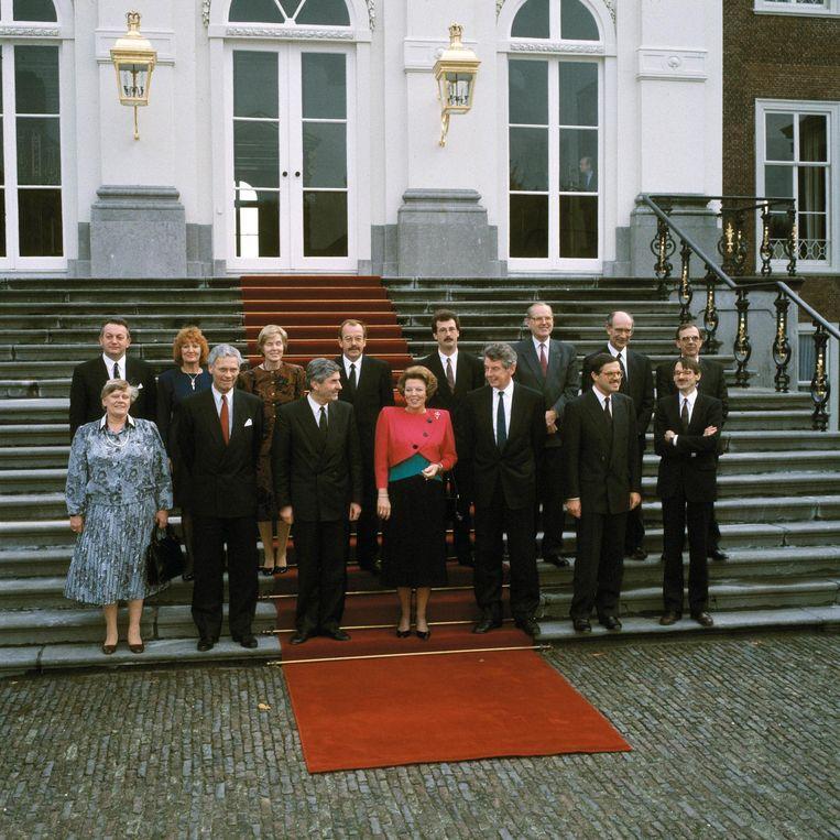 Kabinet Lubbers III (1989). Beeld Benelux Press