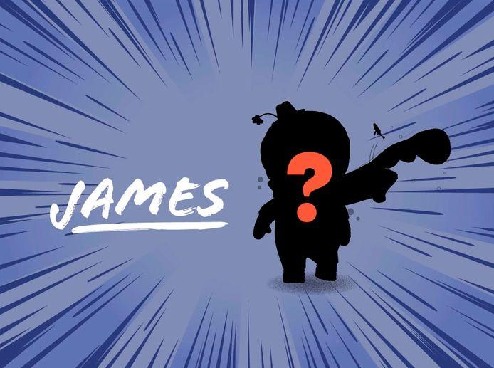 Hoe James eruitziet is nog niet bekend