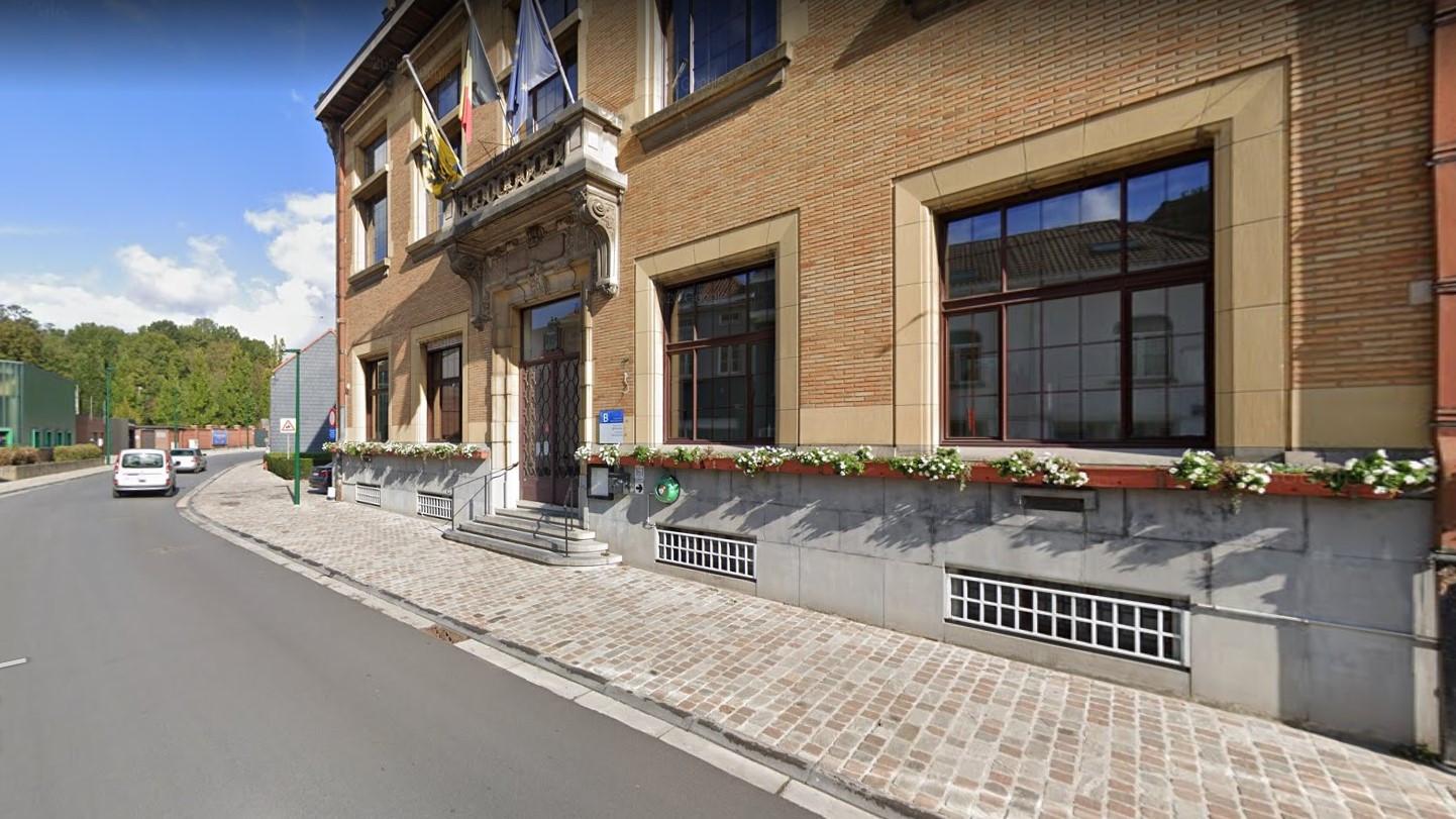 Het gemeentehuis van Sint-Genesius-Rode.