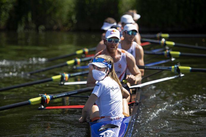 De Holland Acht start weer met trainen, na een periode van aangepaste trainingen en een korte vakantie.