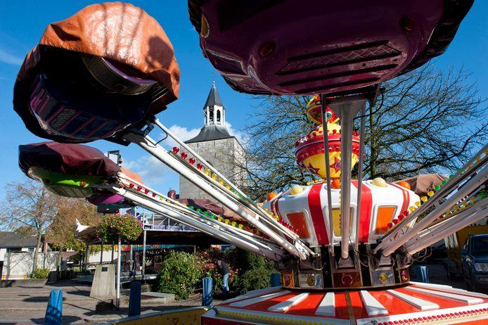 De attracties blijven dit jaar ook in Tubbergen leeg. De kermis gaat niet door.