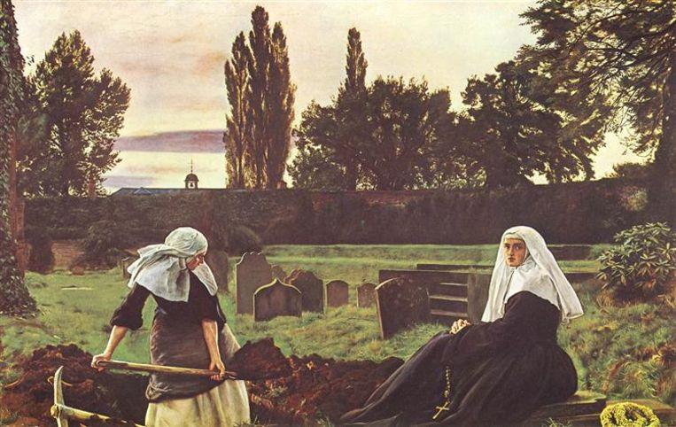 'The Vale of The Rest' Beeld John Everett Millais
