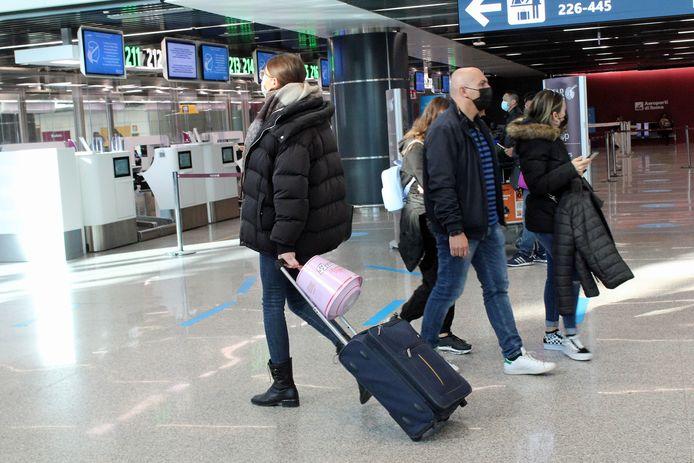 L'aéroport de Rome Fiumicino