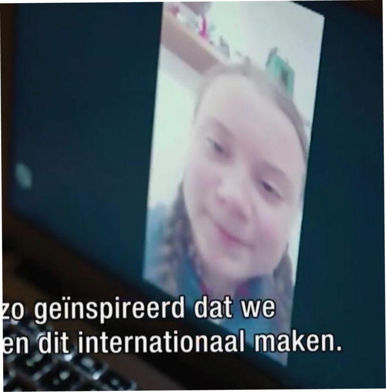 Skypen met Greta Beeld