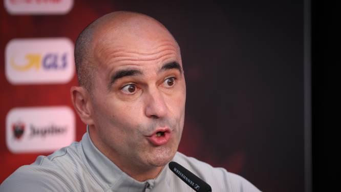 LIVE. Martínez zegt dat De Bruyne en Witsel het goed doen en die laatste zelfs al minuten kan maken tegen Denemarken