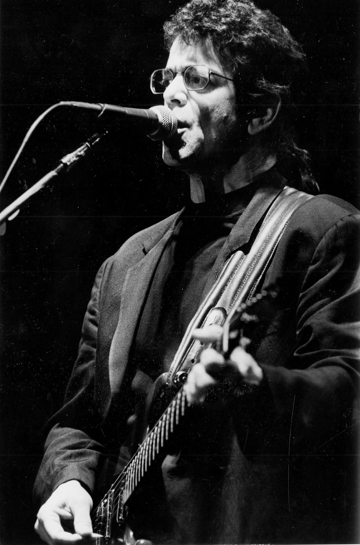 Lou Reed op Rock Werchter, 3 juli 1989 Beeld Eddy Vangroenderbeek