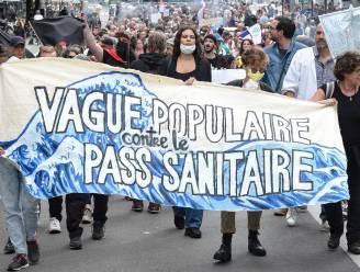 Tienduizenden Fransen betogen opnieuw tegen coronapas