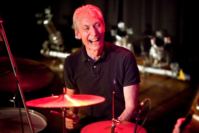 Charlie Watts in 2010.