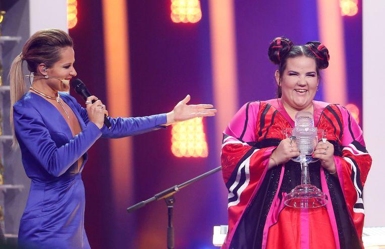 Netta wint de finale van het Songfestival.