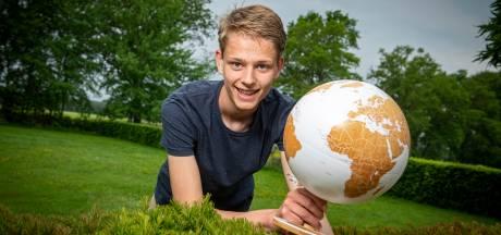 Zutphense aardrijkskunde-topper Pepijn maakt beste profielwerkstuk van Nederland: banen voor het oprapen
