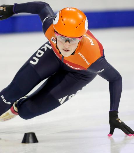 Shorttracksters Oranje pakken goud op relay