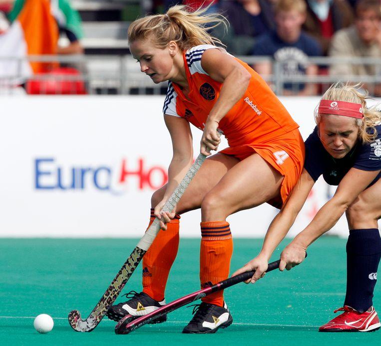 Hockeyster Fatima Moreira de Melo. Beeld Hollandse Hoogte /  ANP