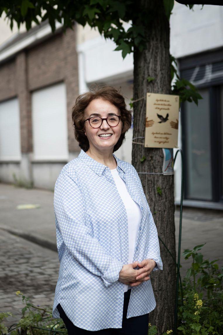 Zahra Khatri, mede-initiatiefnemer van het festival Manchester in Joy. Beeld Siska Vandecasteele